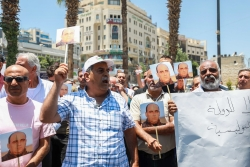 «Pars Abbas» : colère des Palestiniens après la mort d'un opposant politique