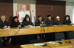 Le pape Francois à l'écoute des Églises libanaises