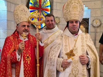 Intronisation du nouvel évêque syro-catholique de Jérusalem