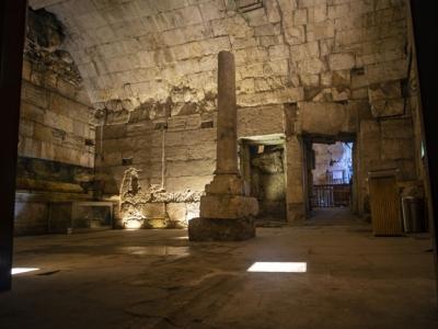 «L'hôtel de ville» de Jérusalem au temps de Jésus, découvert