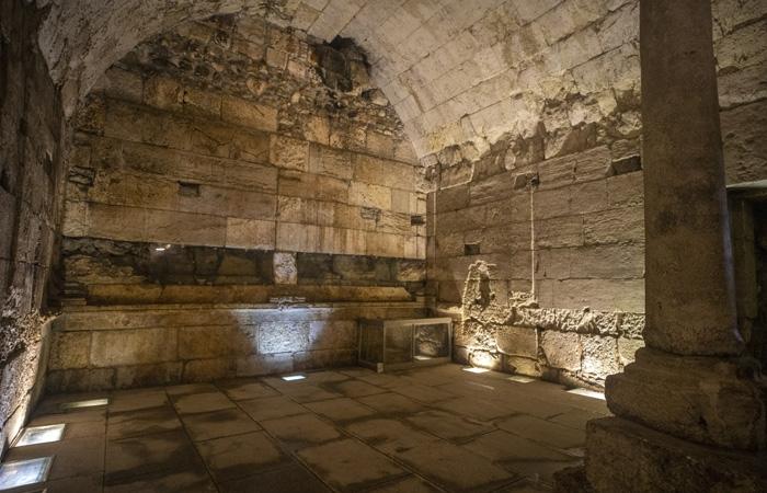 Les vestiges du magnifique bâtiment de 2000 ans ont été récemment mis au jour et seront bientôt ouverts au public. ©Yaniv Berman/Israel Antiquities Authority