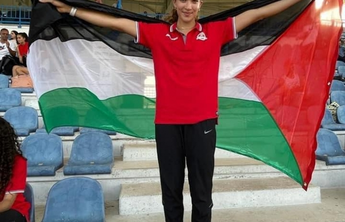 Hanna Bakarat, coureuse du 100 mètres femmes ©BROWN UNIVERSITY ATHLETICS