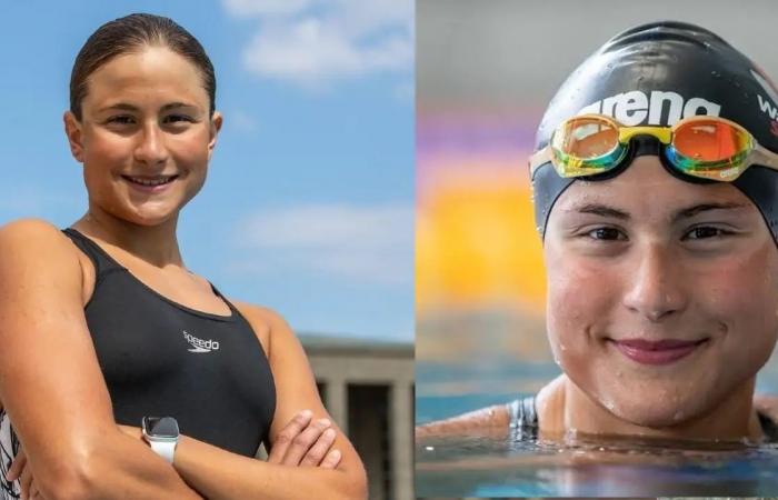 Dania Nour, nageuse originaire de Bethléem qui sera la porte-drapeau de la délégation ©Gettyimage