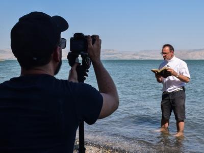 """Dans les coulisses du MOOC """"Voyage biblique"""""""