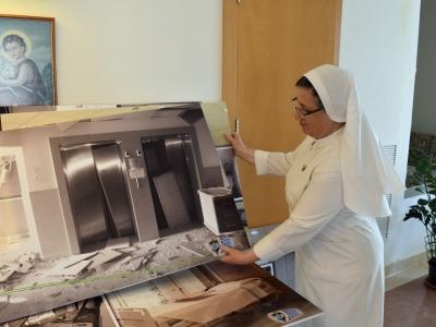 Beyrouth: l'hôpital des Sœurs du Rosaire en soins intensifs