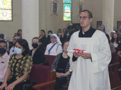 Aboud, futur prêtre et originaire de Gaza